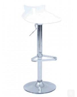 Sgabello In Polipropilene Di Colore Bianco Per Tavolo Snack Arredo Casa Design