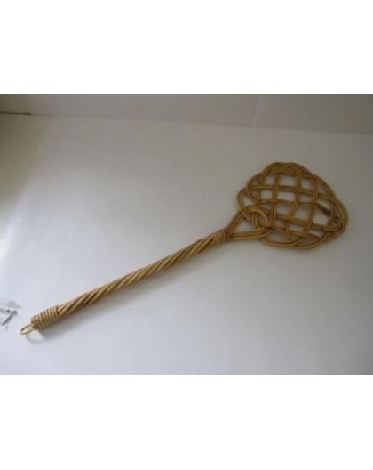 Battipanni in bamboo tre fili batti materassi,tappeti,battipanni biancheria