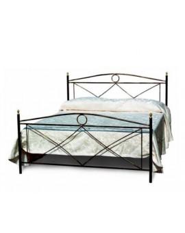 Letto 1 piazza mezzoin ferro battuto in vari colori per camera da letto classica