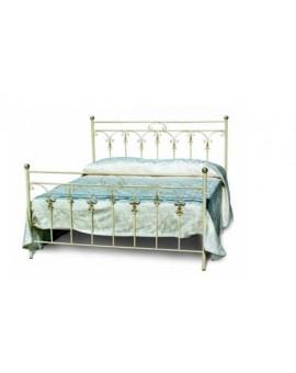 Letto 1 piazza e mezzo in ferro battuto per camera da letto classica vari colori