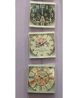 Orologio A Parete DaArredo Casa Desig Vari Modelli Colori