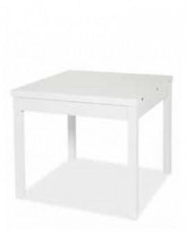 Tavolo da cucina moderna 90x90 aperturaÊa libro bianco per casa ristorante salon