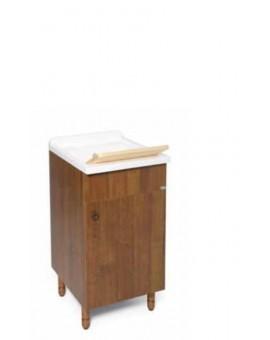Mobile lavatoio 1 anta da bagno noce anticco oppure biancoNON DISPONIBILE