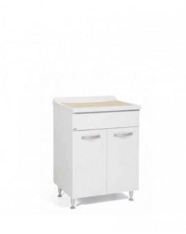 Mobile in legno lavatoio 2 ante da bagnocolore bianco NON DISPONIBILE