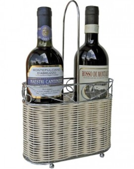 Porta bottiglie naturale da tavolo linea hotel,ristorante 20x10x32.5