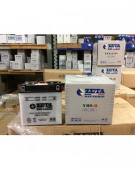 Batteria per scooter LIBERTY 125 VESPA PX 125 MOD. YB9-B zeta batterie