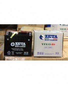 Batteria per moto YTX12-BS zeta batterie