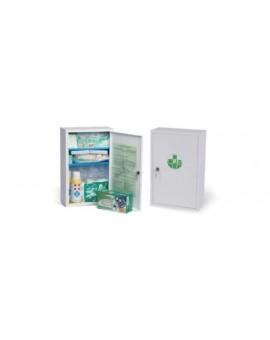 Cassetta armadietto medico pronto soccorso con allegato 2 per aziende + 3dip.