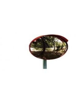 Specchio parabolico stradale diametro 60 infrangibile attacco universale