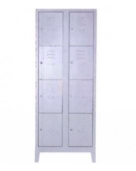 Armadio In Ferro Verniciato.Armadio Porta Borse Metallo Verniciato 8 Posti 69x40x180 Con Serratura Singola Nonsolopoltrone