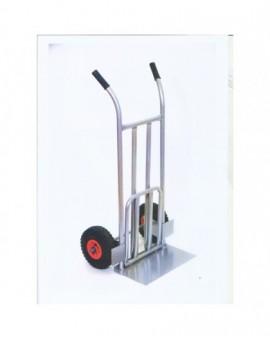 Carrello Porta Pacchi In Metallo Con Doppia Pala Robusto Portata 250kg