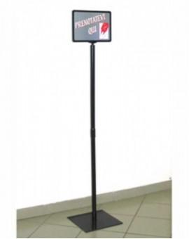 Piantana supporto per eliminacode emettitore tikets per supermarket negozio