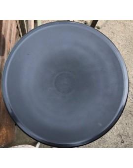 Sedile 10X ricambio fondello per sedia thone vienna di colore nero in plastic