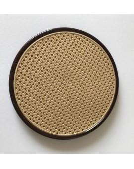Sedile 10X ricambio fondello per sedia thonet vienna di colore marrone paglia fi