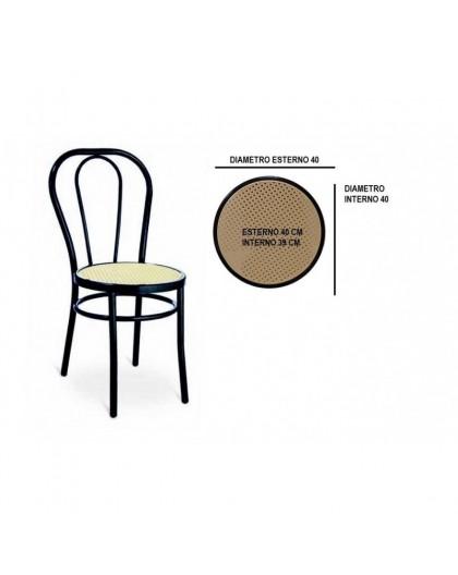 Sedili Di Ricambio Per Sedie.Sedile Di Ricambio Fondello Per Sedia Thonet Vienna Di Colore Nero