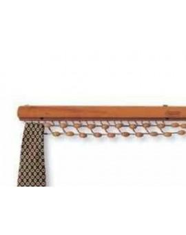 Porta cravatte da appendere a muro colore ciliegio