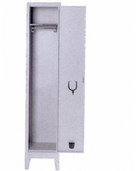 Armadio Palestra 1/posto in metallo misura 36x33x178h completo di serratura