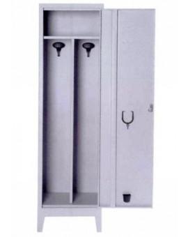 Armadio Spogliatoio Sporco Pulito Metallo 1 Posto Misura 50X40X180 Con Serratura