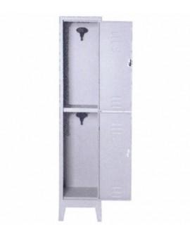 Armadio spogliatoio multiplo in metallo a 2 posti con serratura misura 36x50x180