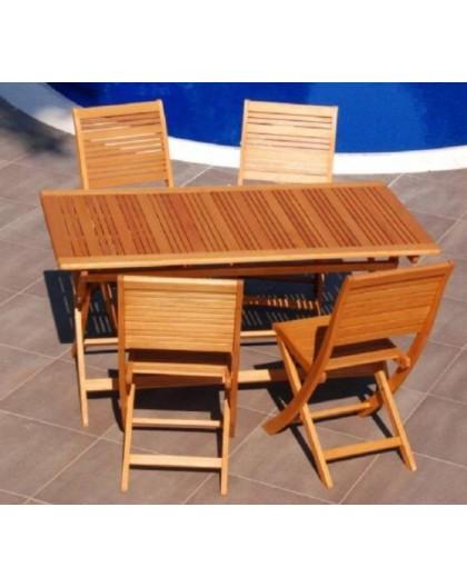 Tavoli In Legno Per Esterno.Tavolo In Legno Per Esterno Pieghevole 150x80 Arredo Giardino