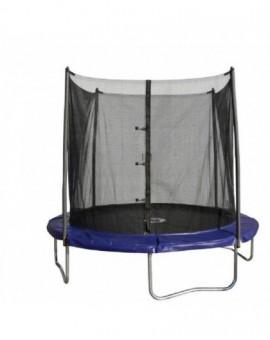 Trampolino elastico molle per bambini gioco salti esterno cm 245