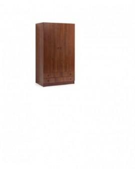 Armadio con cassettinoce antico in kitcon ante battenti mi.90x60x180h arredo