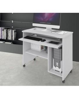 Porta computer in legno bianco oppure olmo vari colori mod. cercando