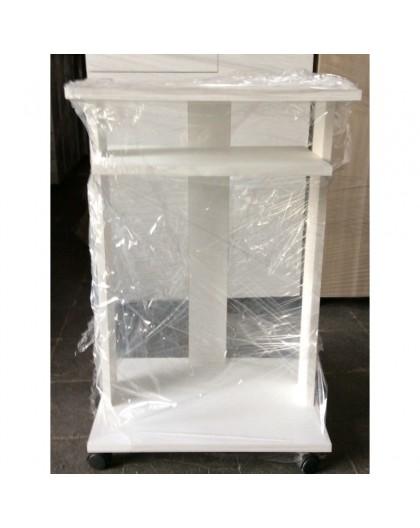 Tavolino Porta Tv Con Ruote.Mobile Carrello Porta Tv O Pc Computer In Legno Con Ruote Corere