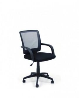 Poltroncina per ufficio,cameretta schienale grigio in rete in tessuto
