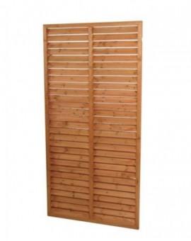 Grata in legnofrangivento 90x140h divisione in legno naturale arredo giardino