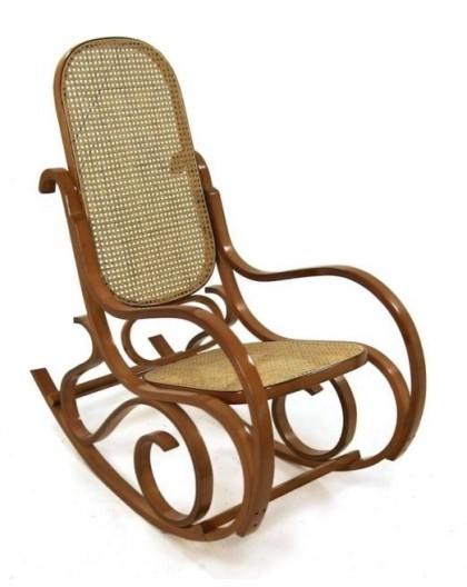 Sedia Dondolo Arredamento.Sedia Vintage Dondolo In Legno Naturale Per Arredo Casa Lusso Seduta Paglia Nonsolopoltrone