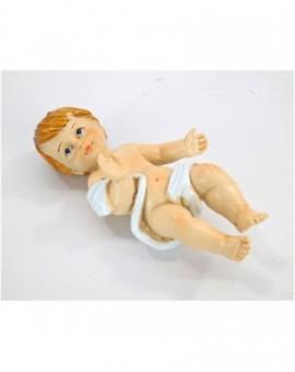 Statua bambin gesu cm10 per presepe capanna natale arredo nativita' addobbo