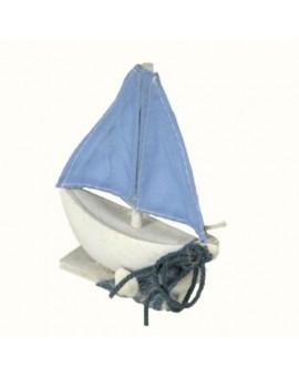 Bomboniera segnaposto barca a vela mare casa,barca,locale decorazio CM8,5X3H13