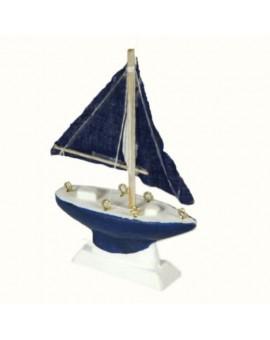 Bomboniera segnaposto barca a vela mare casa,barca,locale decorazio CM9X2,5H12,5